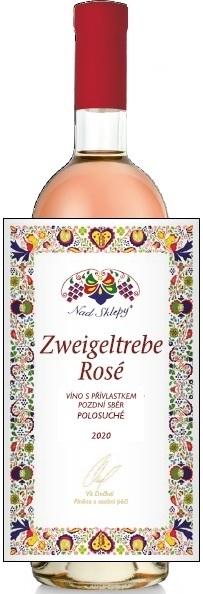 Zweigeltrebe rosé, Pozdní sběr 2020