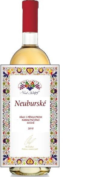 Neuburské 2018 Kabinetní víno